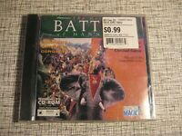 The Great Battles of Hannibal PC CDROM Game 1998 by Interactive Magic Sealed