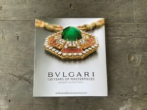 BVLGARI Catalog Collectables 130 Years Of Masterpieces Jeweler To The Stars