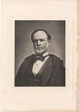19th Century Print of William T. Sherman later in Life