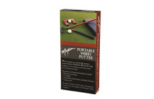 Maxam Portable Cherry Wood Putter Set for Travel or the Office