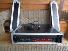 PA Endstufe TA 2400 mit Case