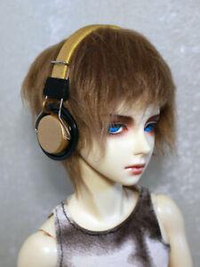 BJD Doll Dollfie Soundplay 1/3 Scale SD Headphones 7 Days Gold New Toy Prop