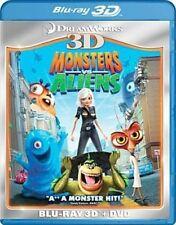 Monsters VS Aliens 3d - Blu-ray Region 1