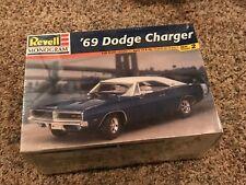 Revell Monogram 1969 Dodge Charger 440 1/24 Model Car Kit New Sealed