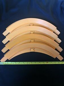 Hot Wheels Vintage Track - 90 Degree Curve X 4 6294 Stackable