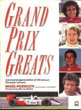 Grand Prix Greats: A Personal Appreciation of 25 Famous Formula .9781852600310