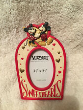 Midwest Mickey & Co. Minnie & Mickey Sweetheart Picture Frame Valentines Day