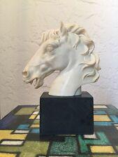 Vintage Mid Century Italian Horse Head Sculpture by A. Santini