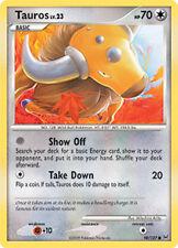 Tauros Common Pokemon Card Pt1 Platinum 98/127