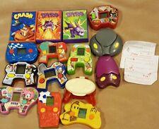 SEGA Sonic McDonalds Happy Meal Toy Lot Games
