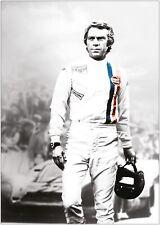 Le Mans Steve McQueen Movie Vintage Large Poster Art Print A0 A1 A2 A3 A4