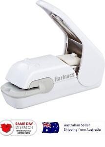Japan Kokuyo Harinacs Press Stapleless Stapler Stationery 5 Sheets WHITE