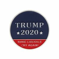 US 45Th President Donald Trump 2020 Make Liberals Cry Again Challenge Coin