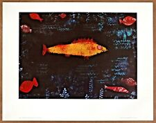 Paul Klee  Goldfish  Rare  Vintage Original 1st Limited Edition 1960 Lithograph