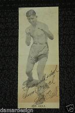 1927 Long Beach, CA BOXER JOE BELL Signed Autograph Photo LB POLY HS Boxing RARE