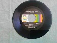 THE WHO Won't Get Fooled Again / I Don't Know Myself  original 45 on DECCA EX