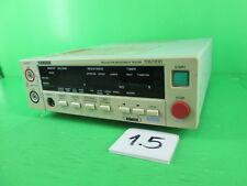 KIKUSUI TOS7200, Insulation Resistance Tester as photos, sn:1376, Promotion.