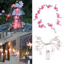 2x Flamingo String Light Lampe de Noël 10LED Wedding Party Decor Warm White