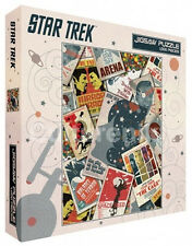 Star Trek Classic Episodes Poster Images Collage 1000 Piece Jigsaw Puzzle SEALED