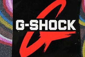 G-SHOCK Watches Wrist 80's Red Logo Beach Surf Surfing M1 MISC MUSIC STICKER