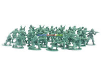 1:72 Plastic Army Men Figures 2.5cm Height (100pcs) Military Set Toy Soldiers