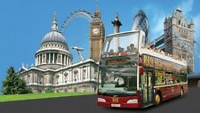 BIG BUS LONDON OPEN TOP TOUR 2 x ADULT + 1 x CHILD - 24 HR OPEN DATE TICKETS