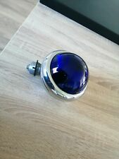 Vintage oem chrome NOS hella blue police light lamp fog no hella cibie