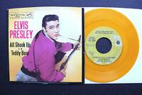 "7"" Elvis Presley - All Shook Up/ Teddy Bear - USA RCA Gold Vinyl"