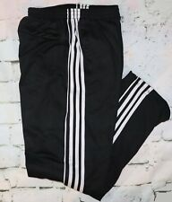 MENS' BLACK ATHLETICS WARM UP PANTS LARGE NEW WITHOUT TAGS