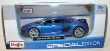 Modellini statici auto blu scala 1:24