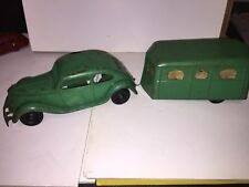 1930'S KINGSBURY  LINCOLN ZEPHYR WIND-UP CAR with Camper