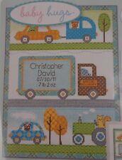 Dimensions Counted Cross Stitch Happi Transport Birth Record Dena Designs Kit