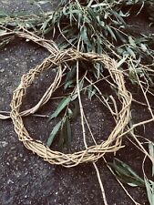 Handmade Willow Wreath Eco Friendly For Christmas Crafts 12in