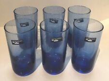 Leonardo Handmade Blue High Ball Glasses - Set Of 6