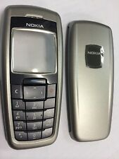 Nokia 2610 Front & Rear Housing & Keypad in Grey - Original. Brand New in pack