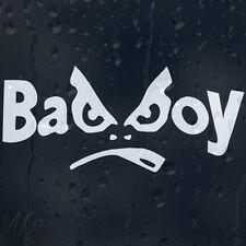Bad Boy Funny White Car Laptop Decal Vinyl Sticker Colour Choice
