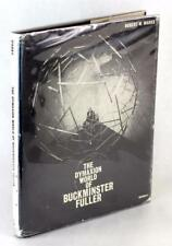 Signed by Bucky 1960 The Dymaxion World of Buckminster Fuller Hardcover w/DJ