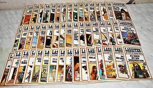 50 Westernromane  der Reihe Lassiter, im Taschenbuch - Format