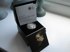 2012 UK SILVER PROOF £2 COIN Charles Darwin. Boxed/COA