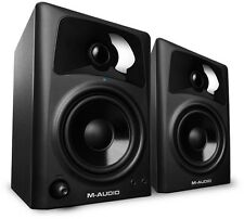 NEW MAudio AV32 Active Compact Monitor Speakers 30 Watts PAIR