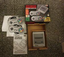 Super Nintendo Classic Mini SNES Konsole - OVP - 21 Spiele