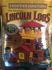 Lincoln Logs Frontier Junction Kit Near Complete 00944 K'Nex 2004