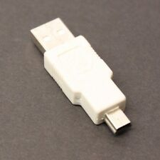5 Lot GE USB A to Mini USB Converter Connector Adapters
