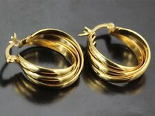 9ct GOLD FILLED HOOP EARRINGS