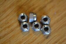 Aerotight in acciaio inox M6 tutti i dadi di bloccaggio in metallo x 8 SCARICHI,. High Temp,