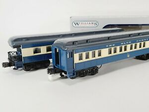 Williams Blue Comet Madison Coach & Observation Cars Crown Edition O Set Of 2