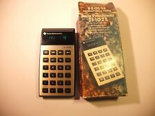 RETRO Texas Instruments TI-1025 CALCULATOR  1970'S