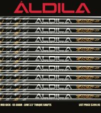 7 Cobra Aldila DVS2 65 Regular Flex .355 Taper Tip Graphite Iron 4-PW Shafts New