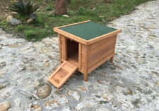 Wooden Rabbit Guinea Pig Tortoise Hide Hutch Chicken Pet Duck House Wood Shelter