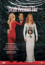 NEW DVD - DEATH BECOMES HER - Meryl Streep, Bruce Willis, Goldie Hawn, Isabella